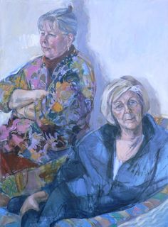 "Ann Cape - ""Judy and Sue in the Studio"""