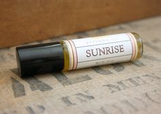 Sunrise Perfume Oil Coconut Hemp Roll On by LongWinterSoapCo, $9.00 (Lots of citrus, a splash of plumeria, and a hint of patchouli)