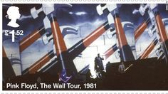 Wish You Were Here: Royal Mail stamps honour 50 years of Pink Floyd Pink Floyd, Royal Mail Stamps, Richard Wright, Roger Waters, Wish You Are Here, Penny Black, Stamp Collecting, Countries Of The World, Great Britain