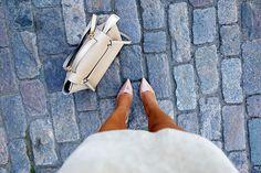 outfit <3 heels: Roberto Festa  bag: Celine