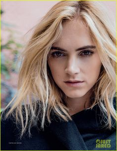 NCIS' Emily Wickersham Poses in Sexy Lingerie for 'Da Man'