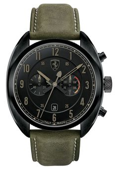 """Scuderia Ferrari Formula Italia Watches: """"Made In Italy"""" & Affordable Watch Releases Gents Watches, Fine Watches, Sport Watches, Cool Watches, Wrist Watches, Ferrari Watch, Diesel Watch, Affordable Watches, Dream Watches"""