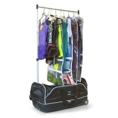 Shop for Travolution 28-inch Wheeled Drop-bottom Duffel with Garment Rack. Get free shipping at Overstock.com - Your Online Bags Outlet Store! Get 5% in rewards with Club O!