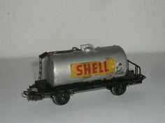 Märklin H0 - Kesselwagen Shell / Güterwagen - wohl Eigenbau Shell, Ebay, Toy Trains, Kettle, Model Trains, Conch, Bookshelves, Seashells