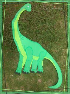 Brachiosaurus para Decoración de Dinosaurios hecho en Foamy. Más fotografías dando clic a la imagen.