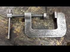 Machining and welding a strong steel C-clamp Welding Classes, Welding Jobs, Welding Projects, Welding Ideas, Metal Projects, Diy Projects, Shielded Metal Arc Welding, Metal Welding, Welding Certification