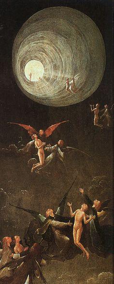 Bosch, Hieronymus - Ascension des âmes bénies vers le Paradis - Palais des Doges, Venise