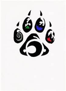 Element Wolf Paw Tribal Tattoo By Relic94 On DeviantART