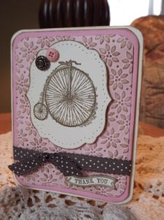 SU Card by Susan Gipe (Dec 8 '13 (sneek preview) 005).  Stamps: Feeling Sentimental (SAB 2013), Itty Bitty Banners.