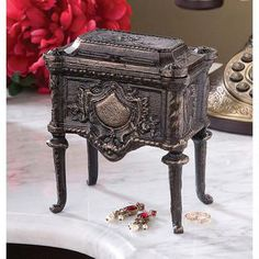French Empire Authentic Foundry Cast Iron Box Was: $29.95           Now: $24.95