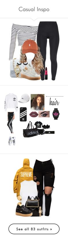 """""""Casual Inspo"""" by oliviamariaairamaivilo ❤ liked on Polyvore featuring Topshop, Chanel, River Island, Puma, TWISTY PARALLEL UNIVERSE, Michael Kors, MAC Cosmetics, adidas, Lime Crime and adidas Originals"""