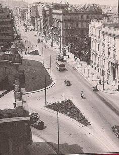 1955 ~ Egyptou square in Athens
