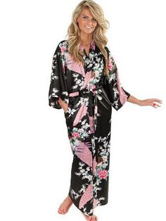 Women Silk Kimono Robes Long Sexy Nightgown Vintage Printed Night Gown Flower Plus Size S M L XL XXL XXXL Gender: Women Item Type: Robes Brand Name: CINOLE Sleeve Length(cm): Short Material: Silk,Faux Silk,Spandex,Polyester Season: Summer Model Number: 7777 Material Composition: Spandex Dresses Length: Floor-Length Pattern Type: Animal Fabric Type: Poplin