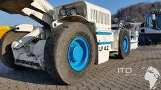 Fahrlader gebraucht kaufen http://www.ito-germany.de/kaufen/fahrlader #Tunnel #Baumaschine #GHH #Mining #Minera #Radlader #scooptram