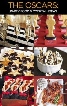 The Oscars 2014: Party Food & Cocktail Ideas