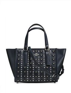 a87e1fc2c12 Coach Mini Crosby Carryall in Floral Rivets Leather