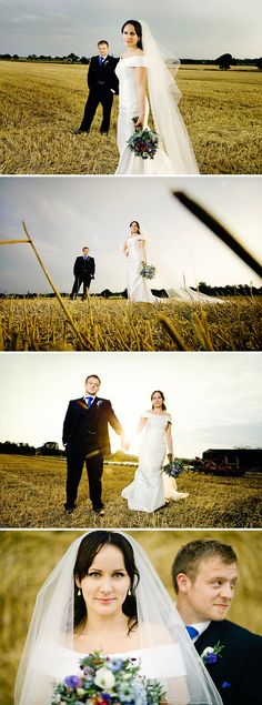 Possible ideas for a wedding photo shoot.