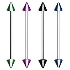 Anodized Spike Industrial bar