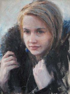 Paintings by Trent Gudmundsen http://pinterest.com/pin/514606694891089967/repin/......modeled by Rachael Flansburg