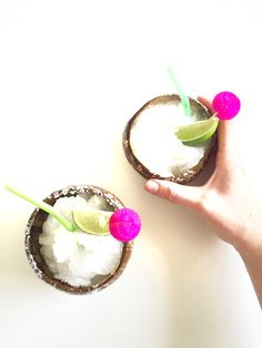 Lime Coconut Margarita | Thoughtfully Simple