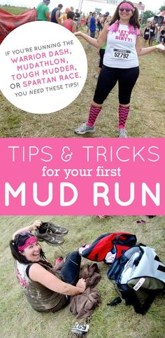 Tips & Tricks for Your First Mud Run Click through to read these great tips!! Back To Her Roots