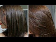 EVDE DOĞAL SAÇ BOYASI YAPIMI DOĞAL KAHVE RENGİ SAÇLAR İÇİN. - YouTube Girls Natural Hairstyles, Hairstyles With Bangs, Natural Hair Styles, Long Hair Styles, Natural Coffee, Style Simple, Coffee Colour, Hair Painting, Cornrows