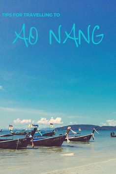 What to see, eat, do and shop in Ao Nang, Krabi, Thailand