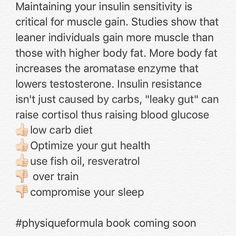 Ahh good old insulin sensitivity. Aim to improve it with your diet and lifestyle... #crossfit #bodybuilding #paleo  #workout #mma #ufc #fitnessmotivation #squats #fitfam #fitspiration #legs  #fitfluential #fitness #gym  #fitnessaddict  #ifbb #ifbbbikini #wmma #crossfitgames #crossfitgirls #npc #physiqueformula  #girlswithmuscle #workout #gains #fitchicks #ig_fitness_girls #abs #powerlifting #kettlebell