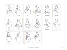 gebaren eten 3 van 4 Sign Language Words, Learn Sign Language, Pearl Harbor, Educational Activities, Activities For Kids, Foreign Languages, Signs, Social Platform, Parenting