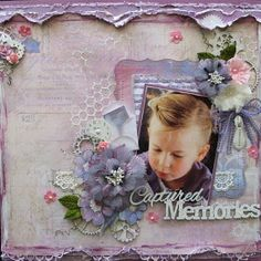 """Di's Creative Space: My """"Once Upon A Sketch"""" Layout""""Captured Memories"""""""