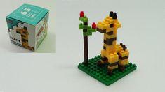 Micro Giraffe Block Dog Mickey Angry Birds Spongebob Donald Duck Toys Do...