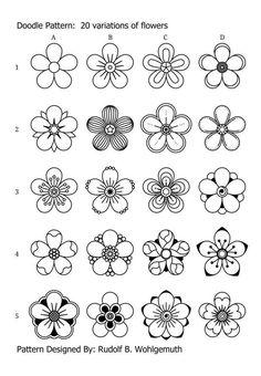 Art Journal Challenge, Art Journal Prompts, Doodle Art Journals, Art Journal Pages, Easy Zentangle Patterns, Zen Doodle Patterns, Doodle Art Designs, Simple Patterns To Draw, Art Patterns