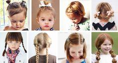 ¿No sabes cómo peinar a tu hija? Te damos 12 ideas de peinados para niña rápidos, fáciles y monísimos que podrás hacerle para ir al cole o para cualquier ocasión.