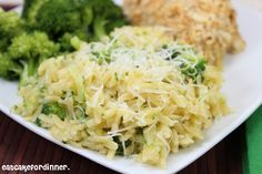 Eat Cake For Dinner: Cheesy Broccoli Orzo