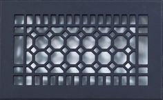 Octogon shaped grilles, vent covers, register vents,Custom Grill Cover, air vent cover, register cover Octogon Octagon Designed