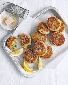 It only takes 15 minutes to turn cold, leftover risotto into these easy Italian-style arancini cakes. Mixed with breadcrumbs and parmesan then fried t