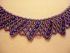 Hermosa púrpura multicolor (iris púrpura) collar de abalorios de color. Usé mostacillas de cristal checo y perlas de cristal de rondell para este collar. La longitud del collar con cierre es de 43 cm (16,93 en), ancho: 3 cm (1,18 en) Esta joyería es un lujo y la ropa elegante. Este Seed Bead Necklace, Seed Bead Jewelry, Seed Beads, Necklace Set, Beaded Necklace, Beaded Bracelets, Beaded Bracelet Patterns, Jewelry Patterns, Beading Patterns