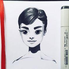 Поиск новостей по запросу LeraKiryakova Рисунки Pinterest - Russian artist draws amazing cartoon versions of famous celebrities