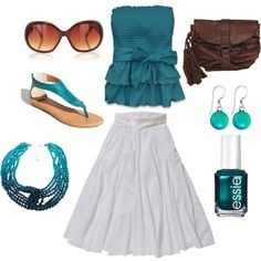 Summer Teal. This is something Id like to wear