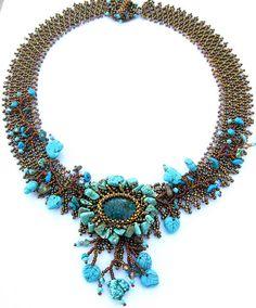 Glacier Florenze necklace by Cielo Design