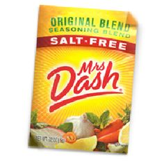 Like the Mrs. Dash facebook page then click on the 'Free Sample Giveaway' link at the top. Be one of the first 30,000 fans to fill out the form to get 4 free sample packets.