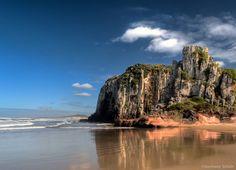 Praia da Guarita - Torres, RS ©Germano Schüür