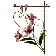 Found it at Wayfair - Tiger Lily Metal Wall Décor
