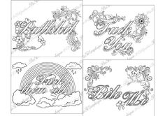 """Adult Coloring Page The swearing words """"Pack 4 swear"""" Doodles - 2 background white and black by PicToGraphique on Etsy #adultcolouringbook #adultcoloringpage #colouringbook #arttherapy #swearinggift #adultcoloringpages #swearingword #fuckyou #vulgar #slang #coloringpage #adults #xxx #colouringpage #curse #swearywords #badword #rude #book"""