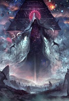 Art by Lordigan Pedro Sena Dark Fantasy Art, Fantasy Artwork, Fantasy Kunst, Dark Art, Arte Horror, Horror Art, Monster Art, Anime Kunst, Anime Art