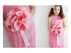 Cómo hacer un ramo de flores de papel para San Valentín 2015