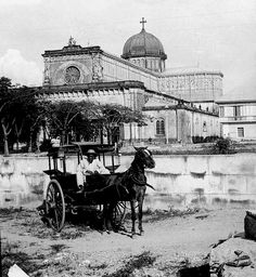 Manila Cathedral, Intramuros, Manila, Philippines, Unknown date (Early century up to Philippines Culture, Manila Philippines, Philippines Travel, Filipino Architecture, Philippine Architecture, Gothic Architecture, Ancient Architecture, Fort Santiago, Philippine Holidays
