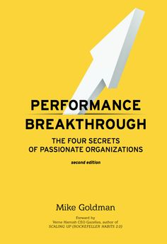 """Mike Goldman the author of the book """"Performance Breakthrough: The 4 Secrets of Passionate Organizations"""" joins Enterprise Radio. Mike has over 25 years of experience consulting and coaching companies from the local entrepreneur to the Fortune 500."""