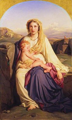 The Virgin and Child  Paul Delaroche (1797–1856)  The Wallace Collection