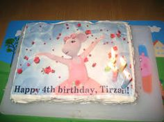 angelina ballerina cake - Google Search 4th Birthday Cakes, Happy 4th Birthday, Angelina Ballerina, Ballerina Cakes, Google Search, Party, Parties